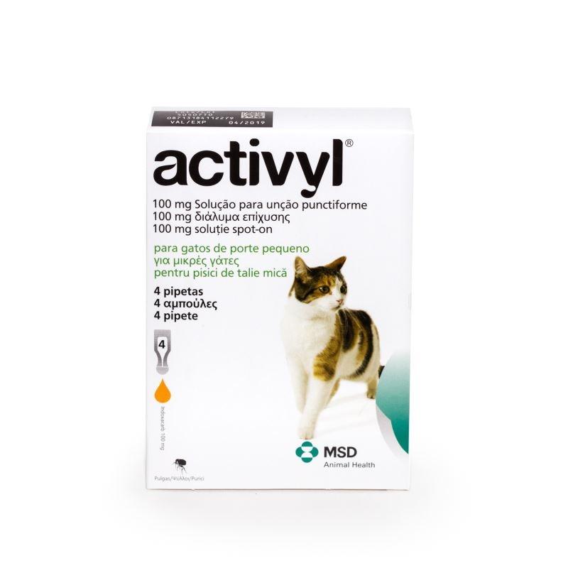 Activyl Cat (< 4kg), 4 pipete imagine
