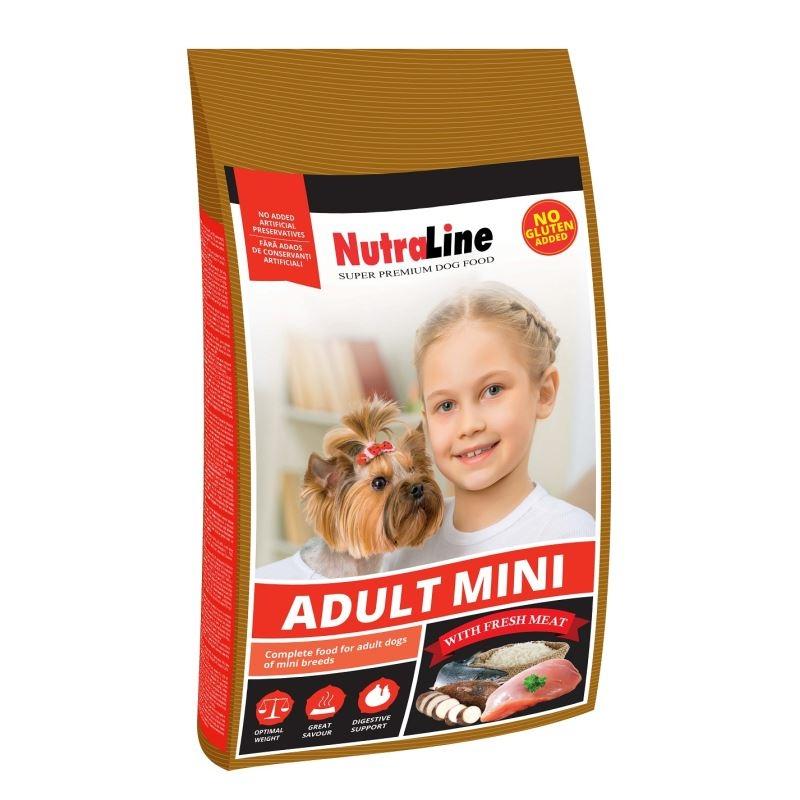 NUTRALINE CAINE ADULT MINI 8 KG imagine
