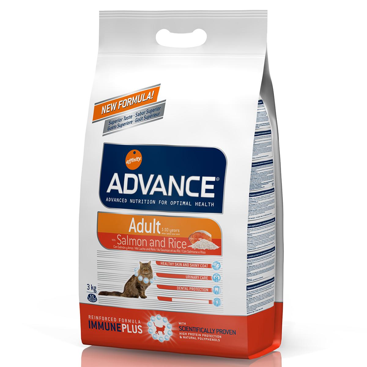Advance Cat Somon & Orez 3 Kg