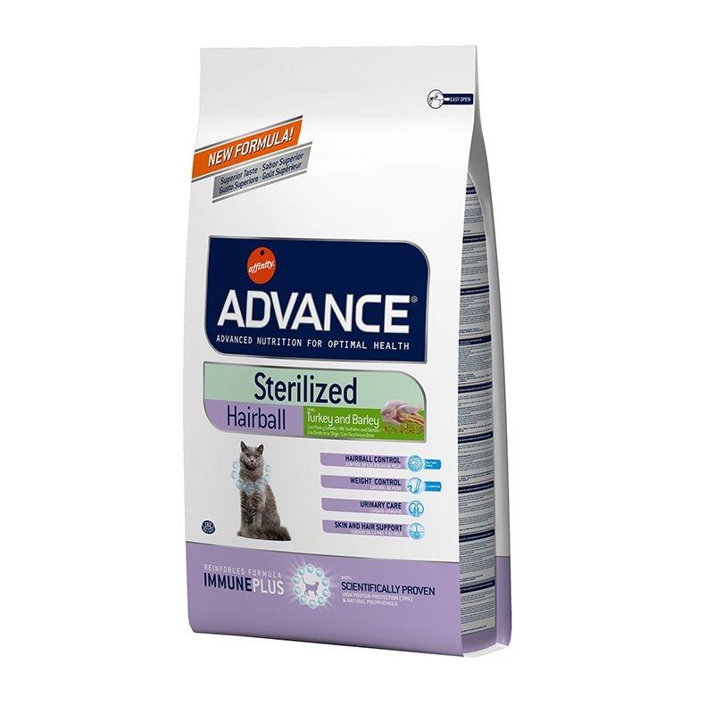 Advance Cat Sterilised Hairball, 1.5 kg imagine