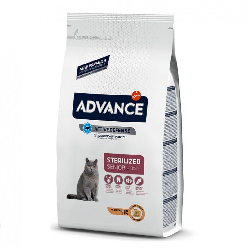 Advance Cat Sterilised Senior 10+, 10 Kg imagine
