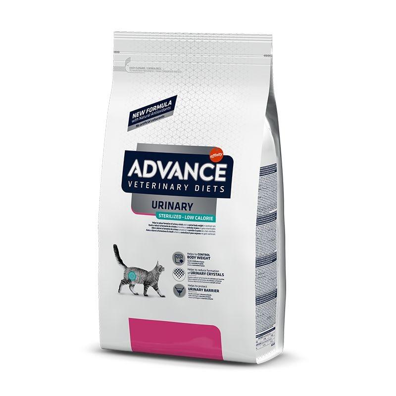 Advance Cat Sterilised Urinary Low Calories, 2.5 kg imagine