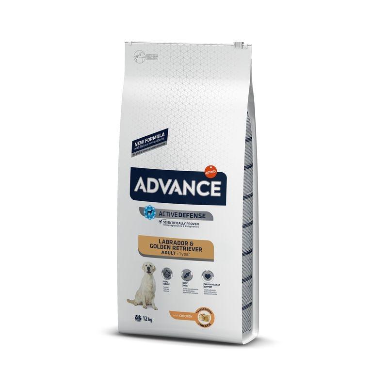 Advance Dog Labrador & Golden Retriever, 12 kg imagine