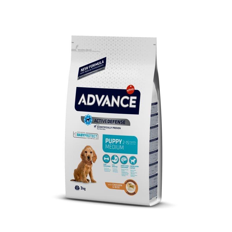 Advance Dog Medium Puppy Protect, 3 kg imagine