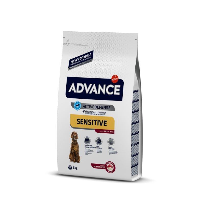 Advance Dog Miel & Orez, 3 kg imagine