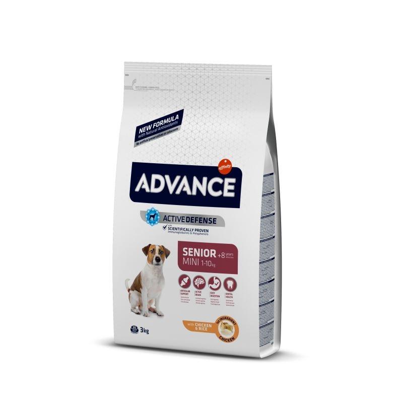 Advance Dog Mini Senior, 3 kg imagine