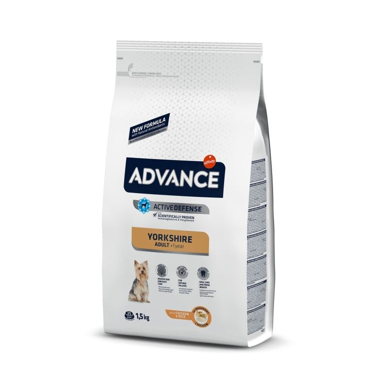Advance Dog Yorkshire Terrier, 1.5 kg imagine