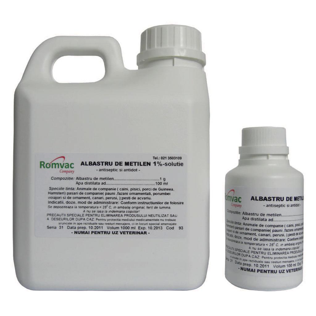 ALBASTRU DE METILEN 1 % Solutie 100 ml imagine