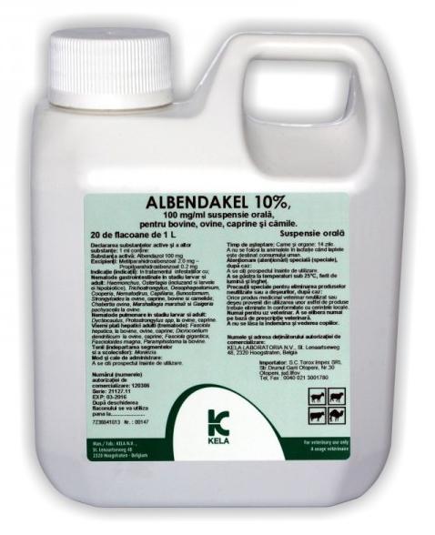 Albendakel 10%, 1 L