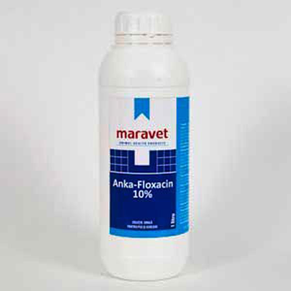 Anka floxacin 10 1 l 120 99 ron petmart petshop for Clou arredi farmacie
