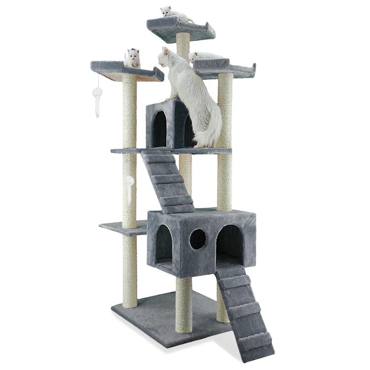 Ansamblu pisici, Miau Miau Royal, 55x60x182cm imagine