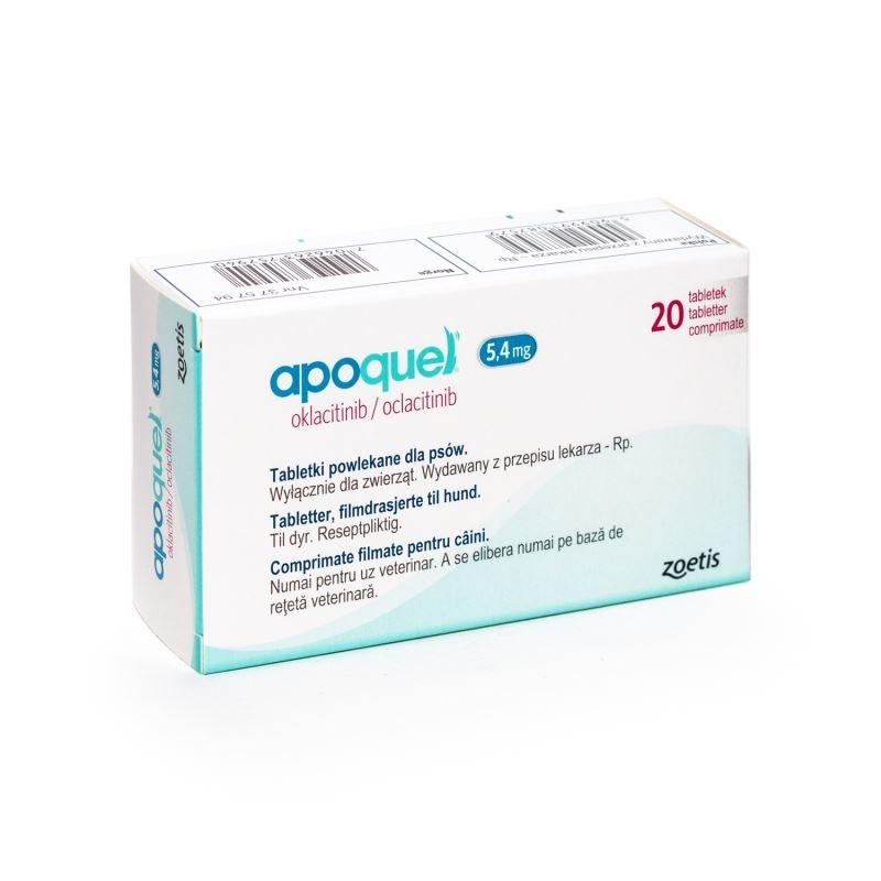 Apoquel 5.4 mg, 20 tablete imagine