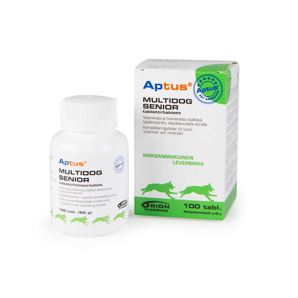 Aptus Multidog Senior 100 cp imagine