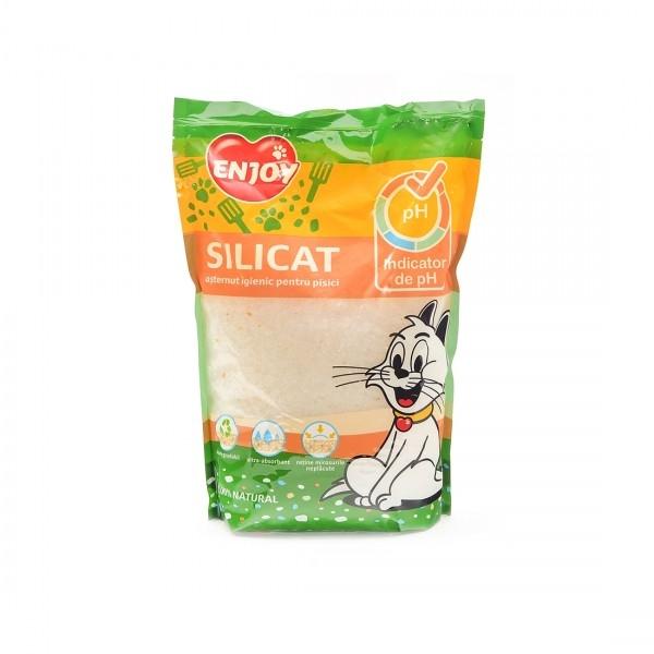 Asternut igienic pentru pisici, Enjoy pH Indicator, 5 L imagine