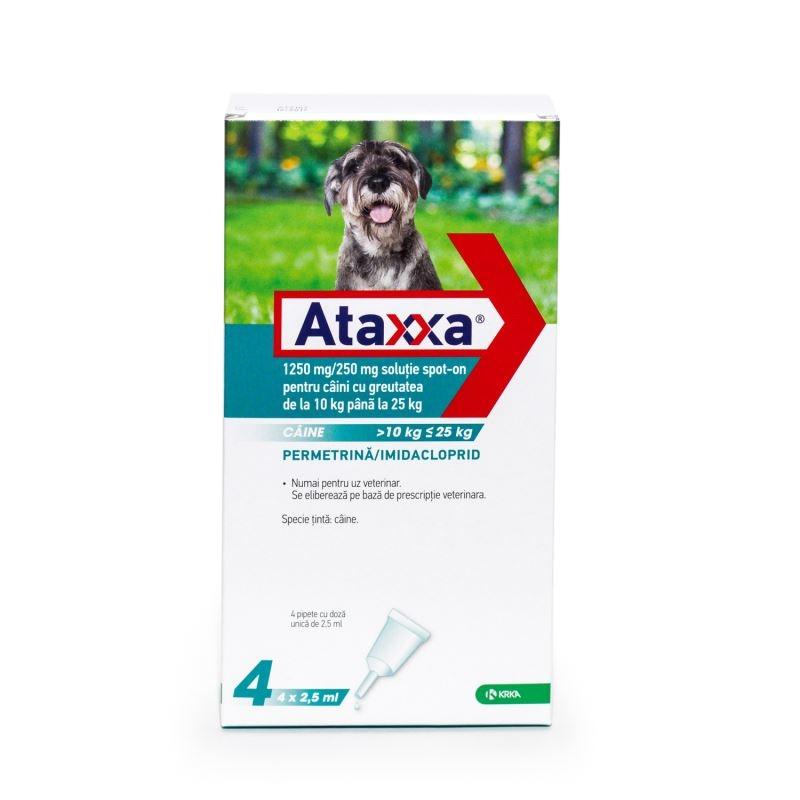 Ataxxa Dog 250 (10 - 25 kg), 4 pipete imagine
