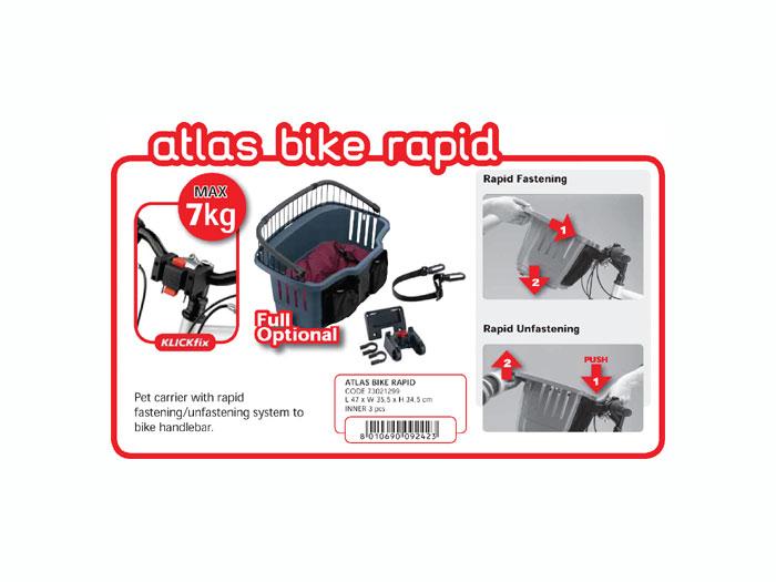 ATLAS BIKE - Cos de transport pentru bicicleta imagine