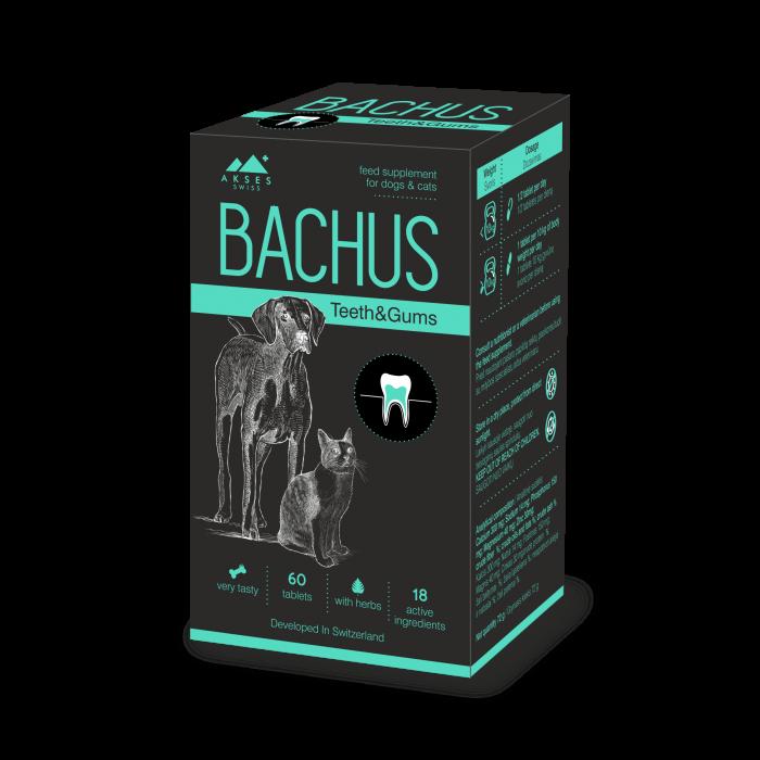 BACHUS Theeth & Gums, suplimente nutritive pentru caini si pisici imagine