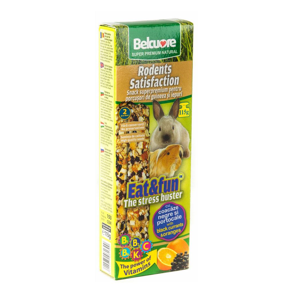 Baton Gpig&iepuri Belcuore Cu Coacaze Negre/portocale 115 G