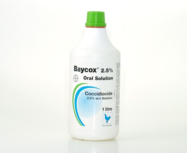 Baycox Bovis 2.5% x 1 L -Solutie orala imagine