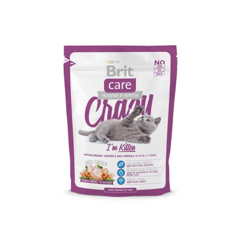 Brit Care Cat Crazy Kitten, 400 g imagine