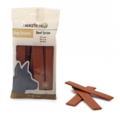 Recompensa caini, Beeztees Snack Strips, cu vita, 150 g imagine