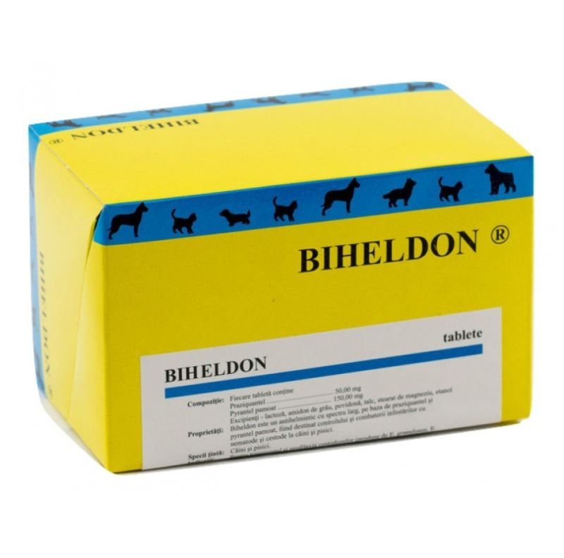 Biheldon 4 comprimate imagine