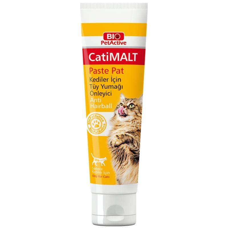 Hairball Remedy pisici, Bio PetActive CatiMalt, 100 ml imagine