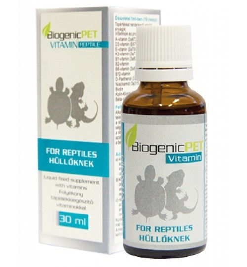 BIOGENIC PET VITAMIN REPTILE, 30 ml imagine