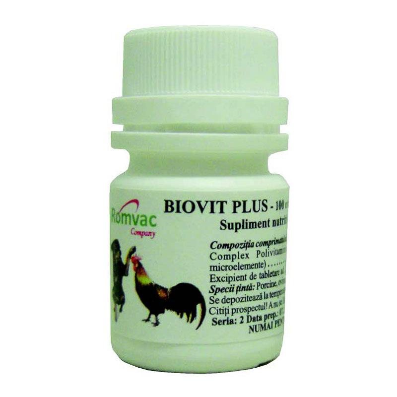 Supliment BIOVIT PLUS 100 CP imagine