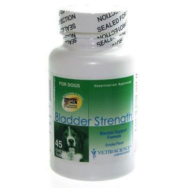 Bladder strength for dogs 45 tablete 63 06 ron petmart for Clou arredi farmacie