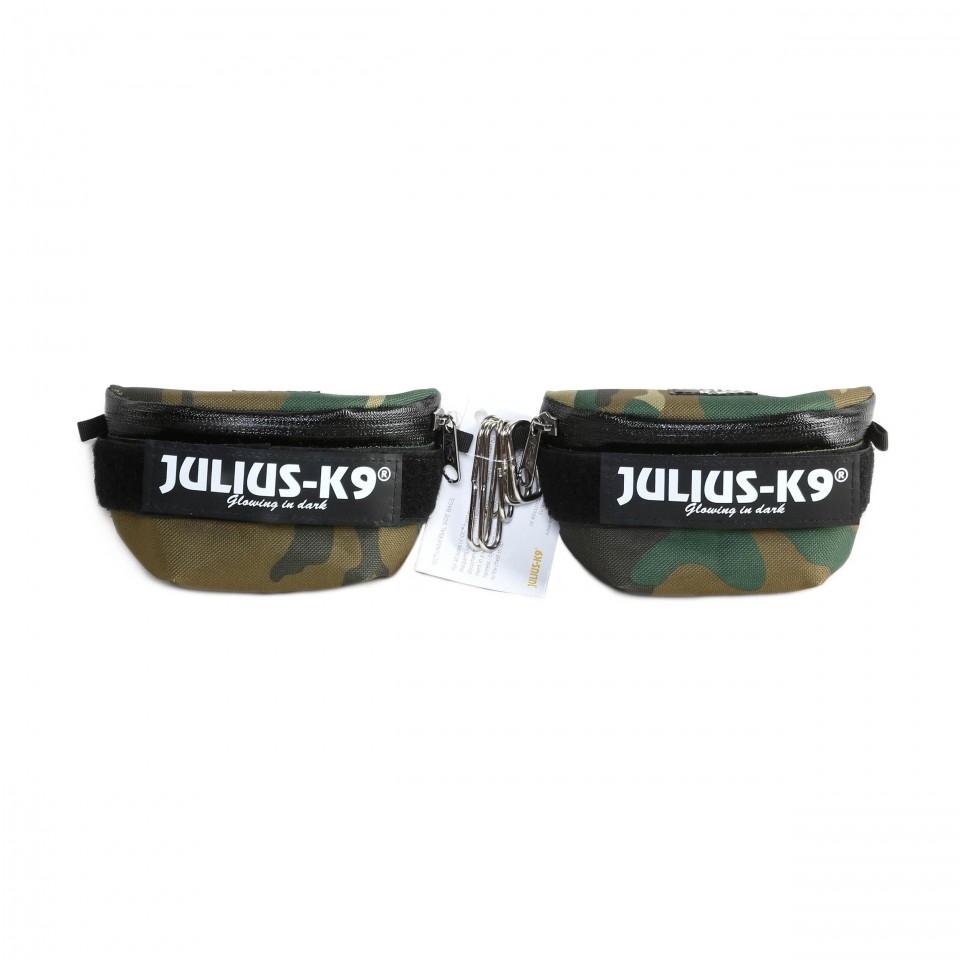 Borsetute pentru hamurile Julius K9, Mini-4, Camuflaj imagine