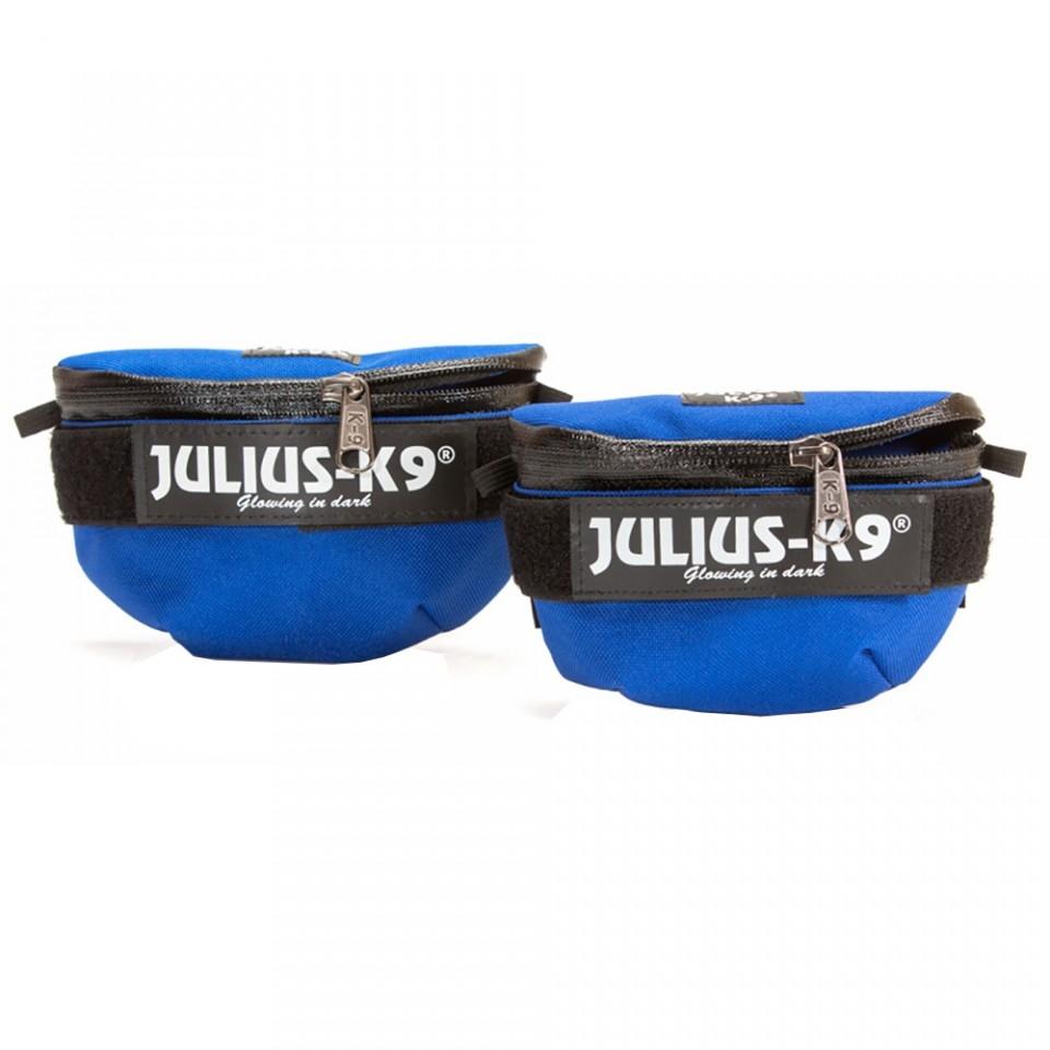 Borsetute pentru hamurile Julius K9, Mini-4, Albastru imagine