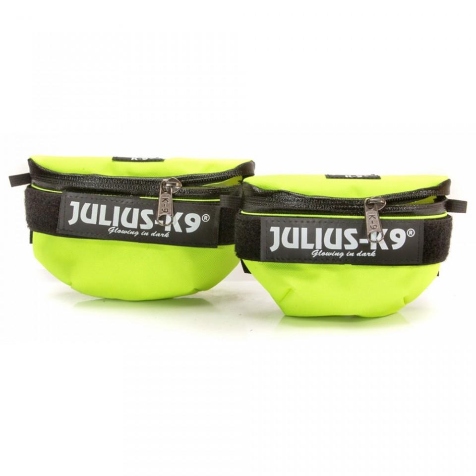 Borsetute pentru hamurile Julius K9, Mini-4, Neon imagine