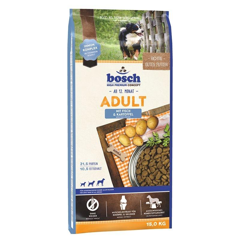 Bosch Adult Fish & Potatoes 15 kg imagine