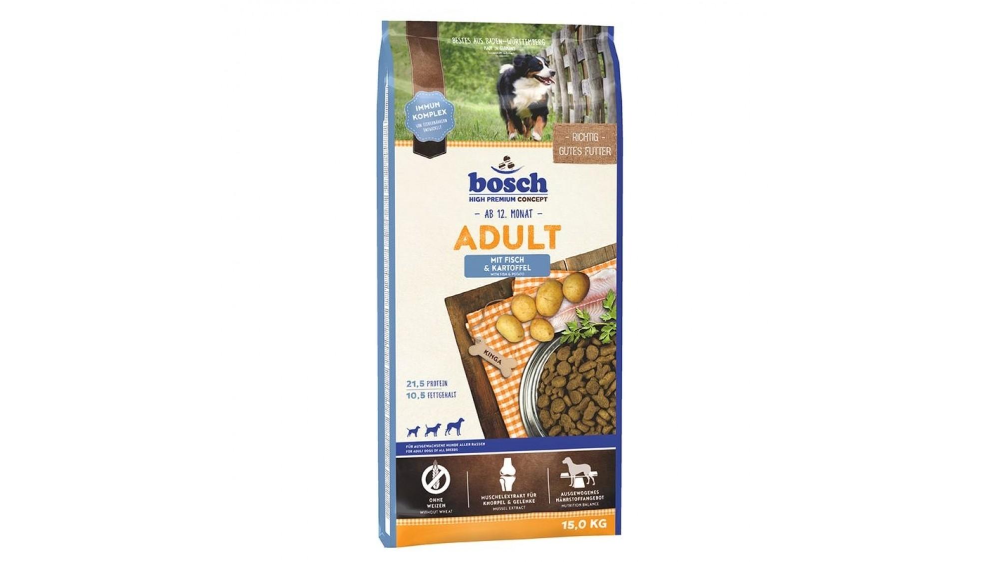 Bosch Adult cu peste si cartofi 3 kg imagine
