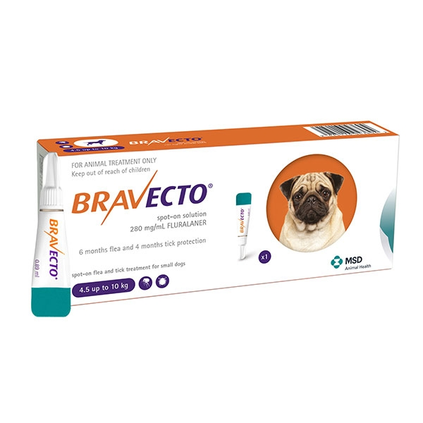 Bravecto Spot On (4.5-10 Kg) 1 Pipeta