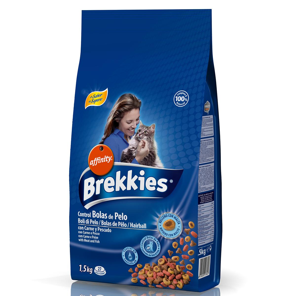Brekkies Excel Cat Hairball 1.5 kg imagine