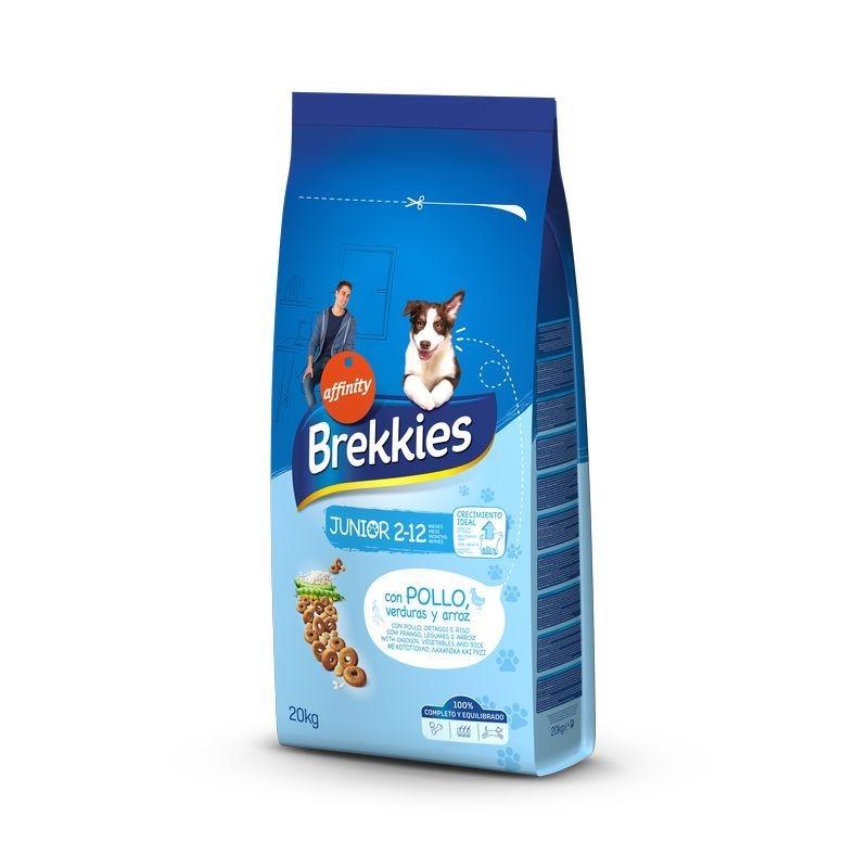 Brekkies Dog Excel Junior Original, 20 kg imagine