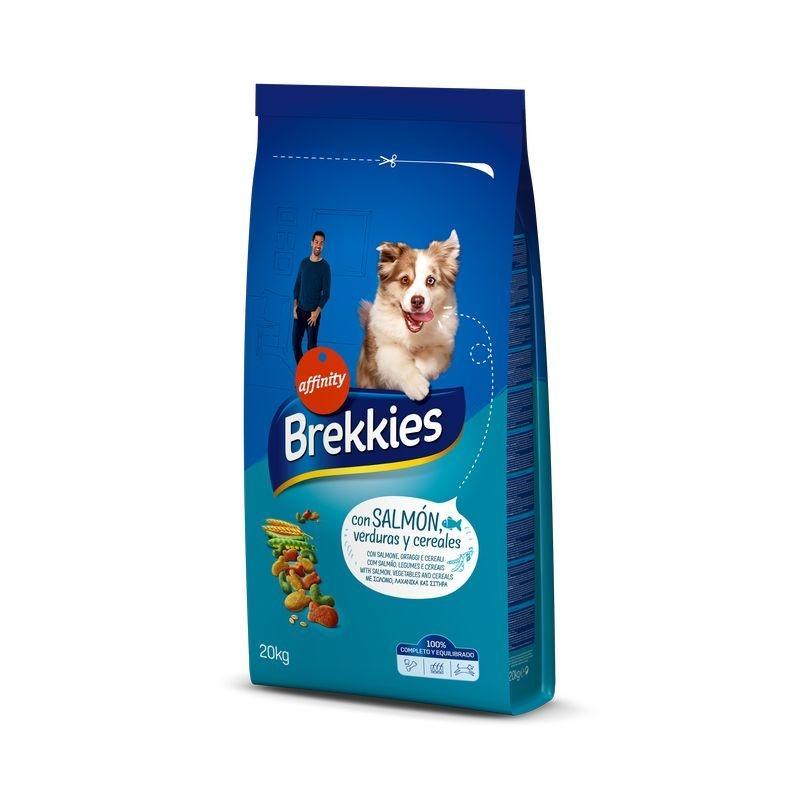 Brekkies Dog Excel Mix Peste, 20 kg imagine