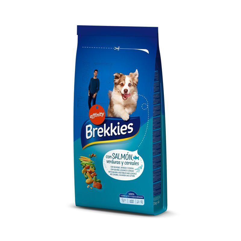 Brekkies Dog Excel Mix Peste, 4 kg imagine