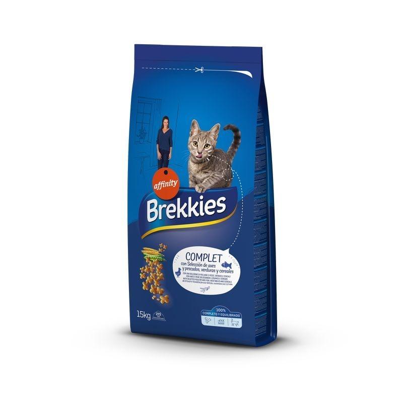 Brekkies Excel Cat Complet, 15 kg imagine