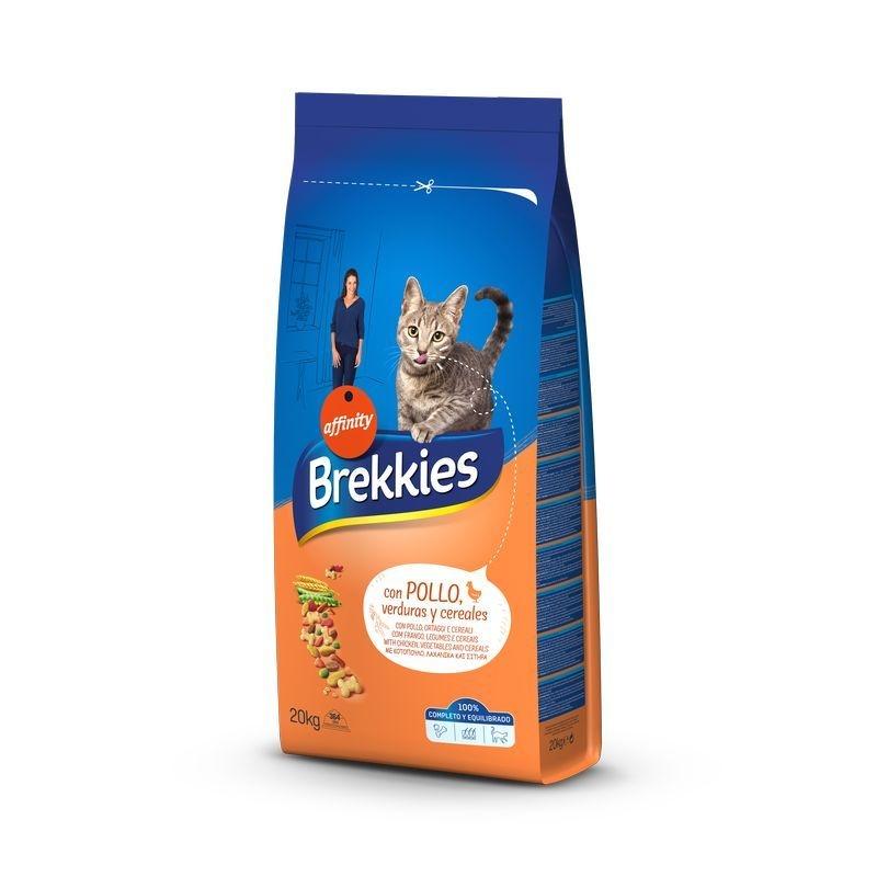 Brekkies Excel Cat Mix Pui, 20 kg imagine