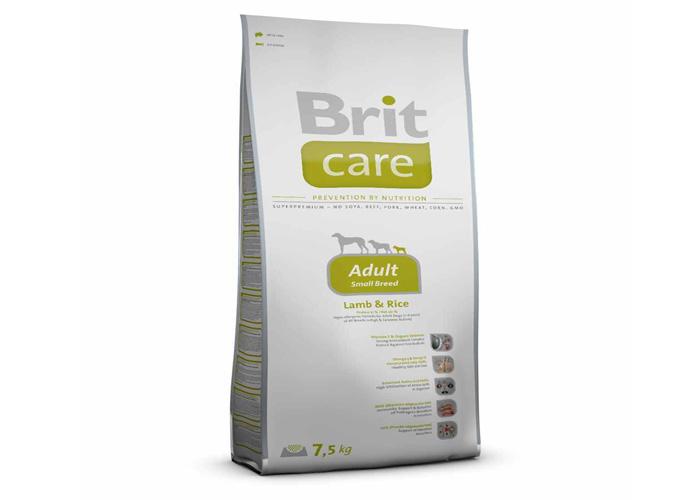 Brit Care Adult Small Breed Lamb & Rice, 7.5 Kg imagine