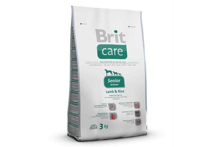 Imagine Brit Care Grain-free Senior Salmon And Potato 3kg