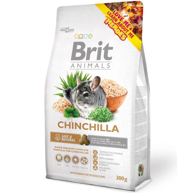 Brit Animals Chinchilla, 300 g imagine
