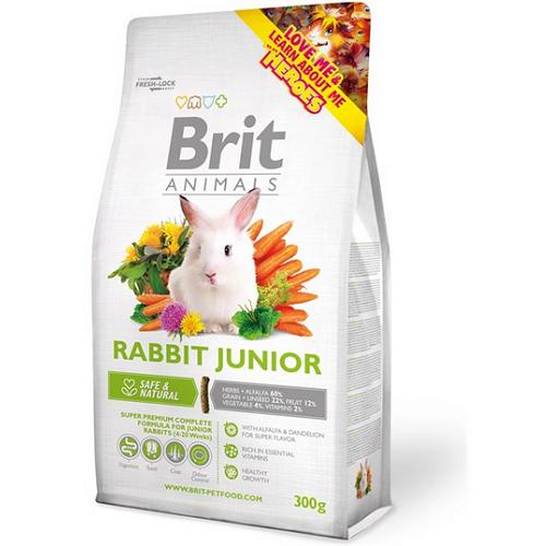 Brit Animals Iepure Junior 300g imagine