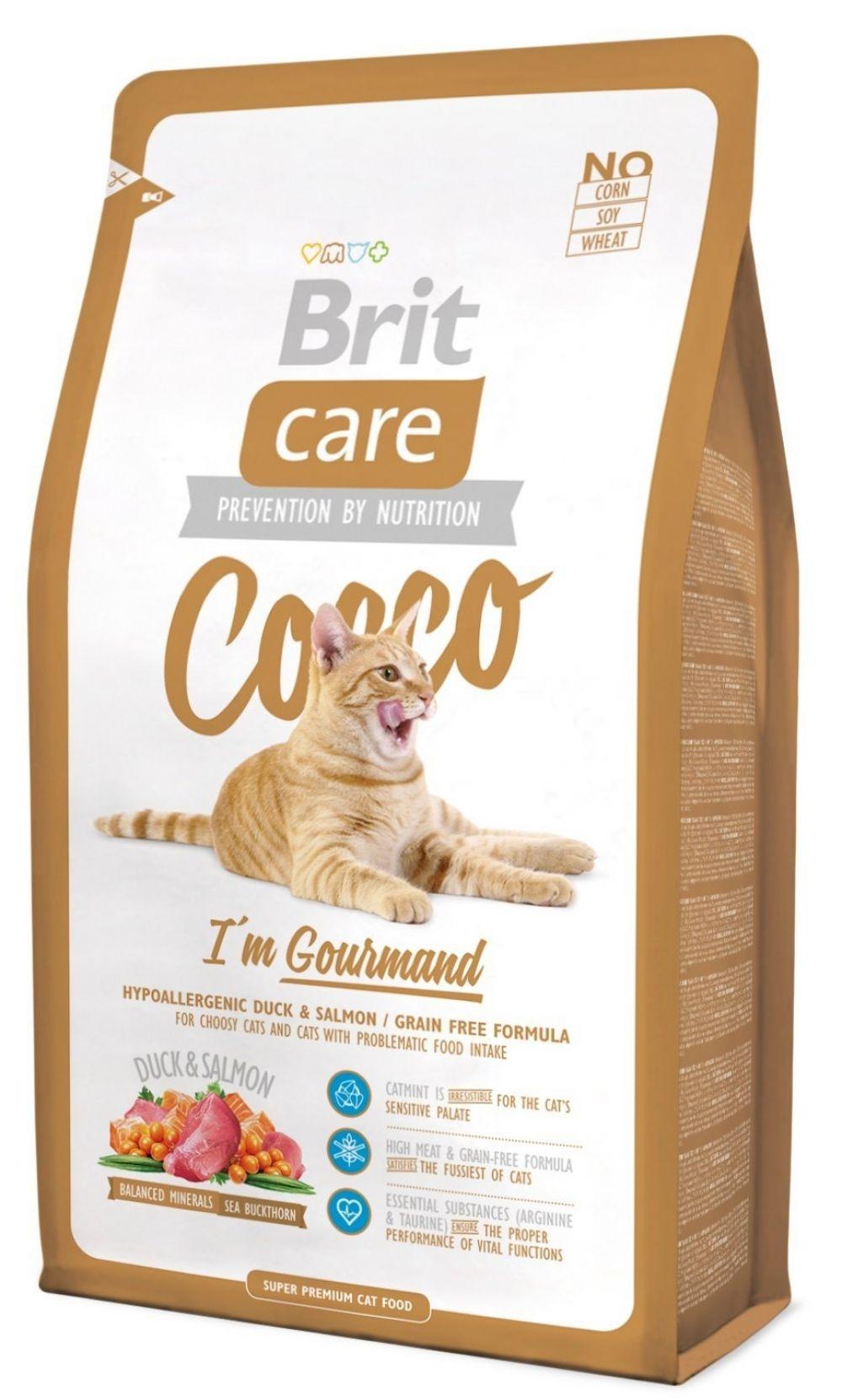 Brit Care Cat Cocco Gourmand, 7 kg imagine