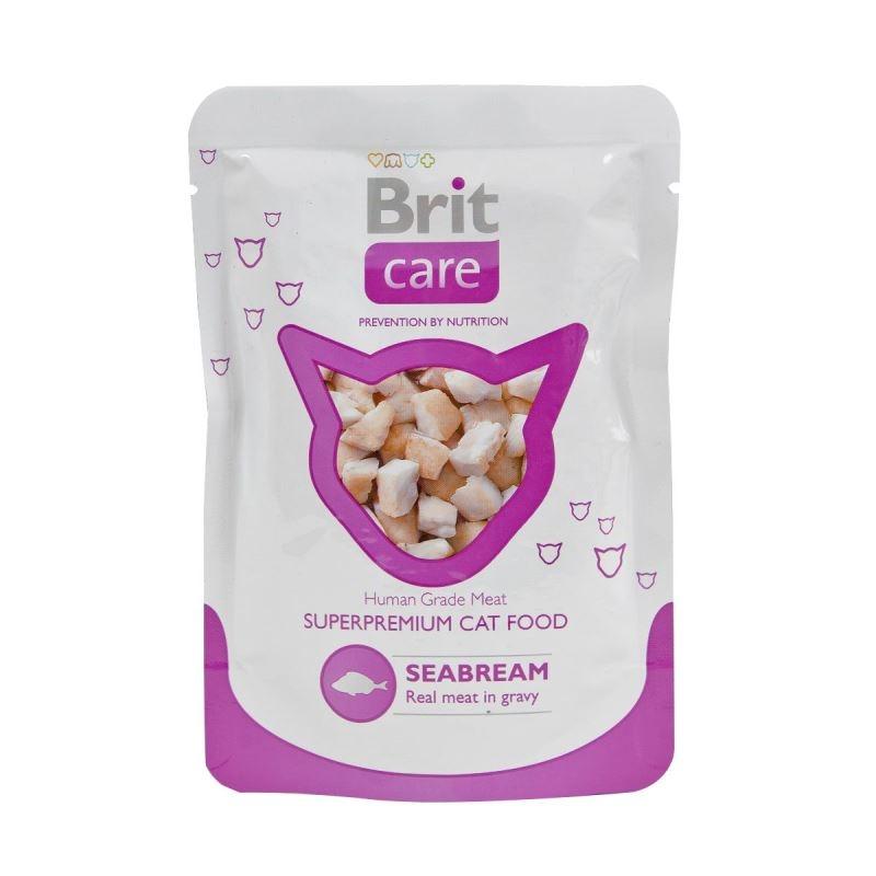 Brit Care Cat plic cu peste dorada, 80 g imagine