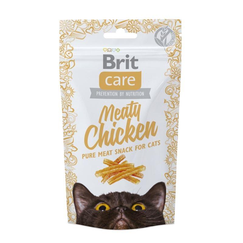 Brit Care Cat Snack Meaty Chicken, 50 g imagine