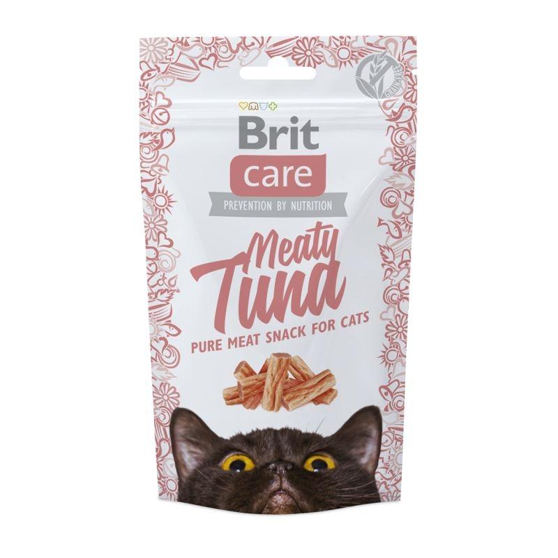 Brit Care Cat Snack Meaty Tuna, 50 g imagine